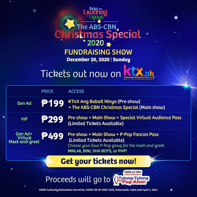 KathNiel MayWard LizQuen and other Kapamilya stars headline KTX PH s fundrasing pre show for ABS CBN Christmas Special 3