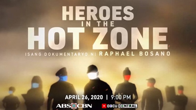 ABS CBN DocuCentral puts spotlight on COVID 19 frontliners in Heroes in the Hot Zone  1