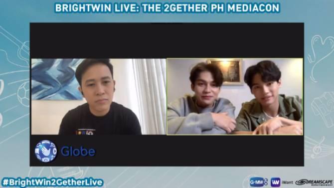 Mahal Ko Kayo Kapamilya BrightWin announce fandom name greet fans in 2Gether The Series Live PH Mediacon 1