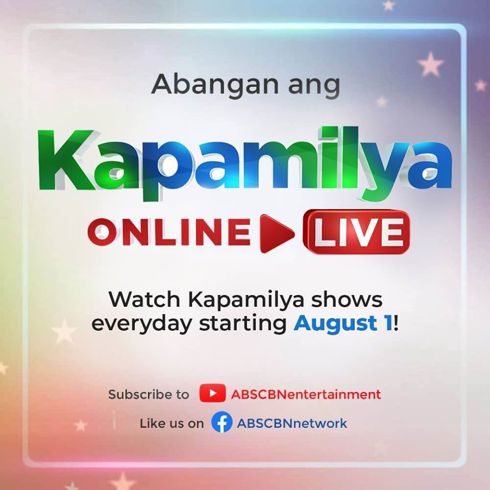 ABS CBN goes full blast on digital launches Kapamilya Online Live on YouTube and Facebook  1