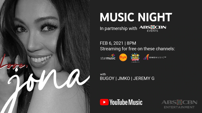 YouTube ABS CBN Music to stage free Valentine s concerts featuring Jona Juris and Jed 1