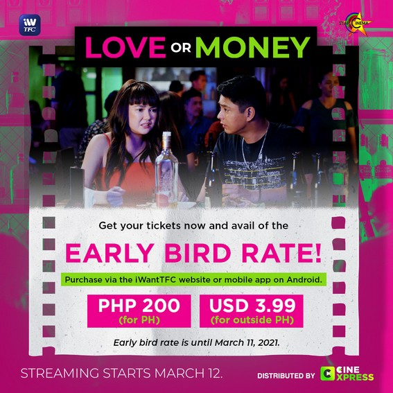 Angelica and Coco s Love or Money trailer hits 5M views tickets now available on iWantTFC 2