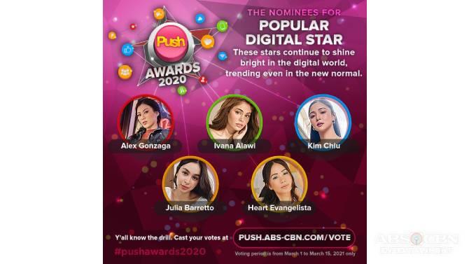 6th PUSH Awards honors inspiring digital stars 2