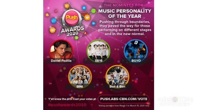 6th PUSH Awards honors inspiring digital stars 5