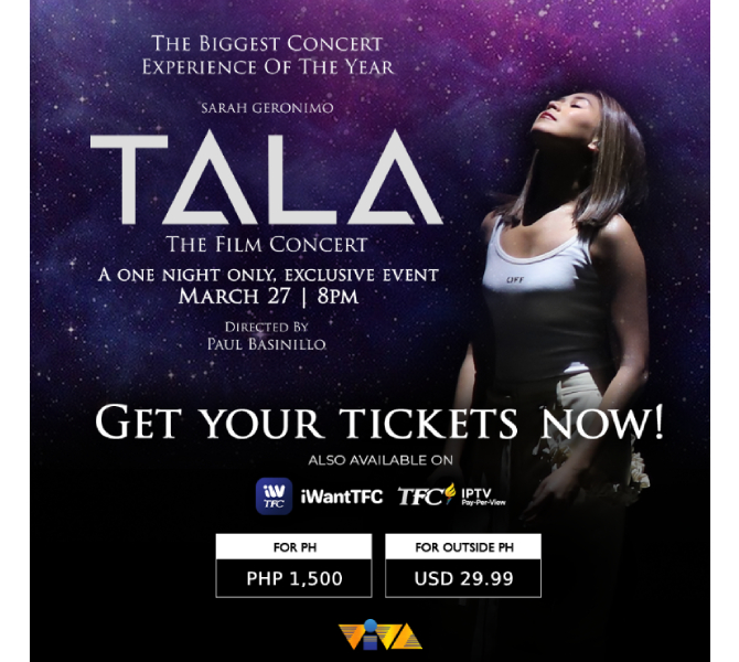 iWantTFC presents Ina s movie Sarah G s film concert and Janine JC film Dito at Doon  2