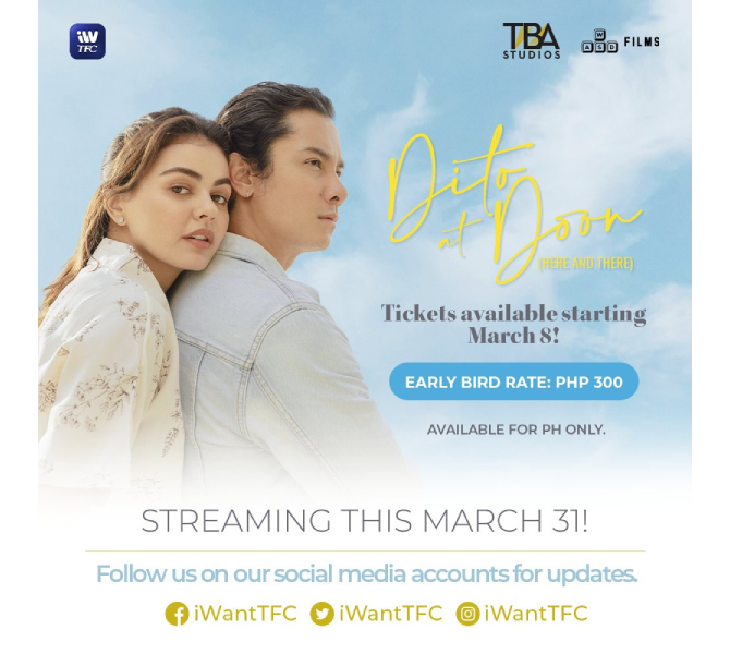 iWantTFC presents Ina s movie Sarah G s film concert and Janine JC film Dito at Doon  3