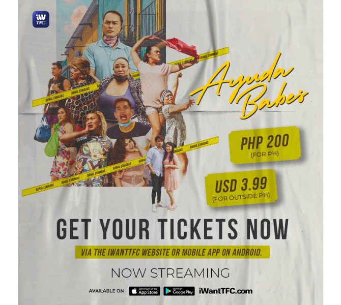 iWantTFC presents Ina s movie Sarah G s film concert and Janine JC film Dito at Doon  6