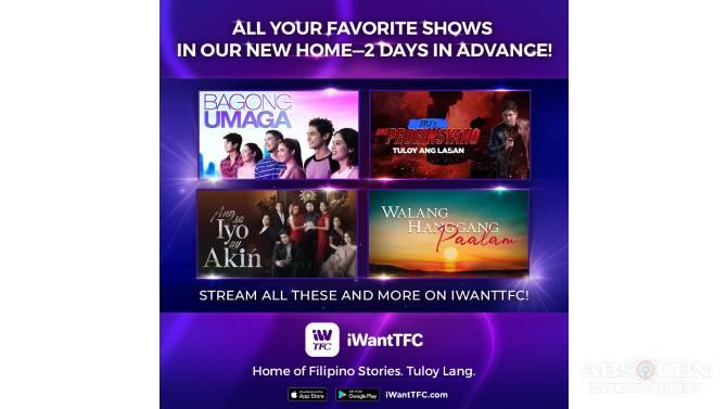 iWantTFC streams Ang Sa Iyo Ay Akin Huwag Kang Mangamba and Aja Aja ahead of TV premiere 4