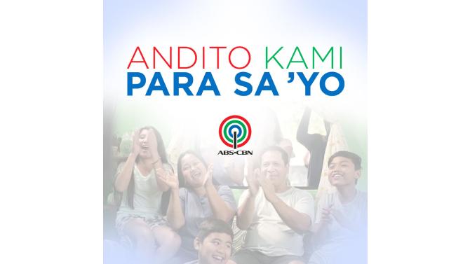 ABS CBN andito pa rin para sa mga Pilipino 1