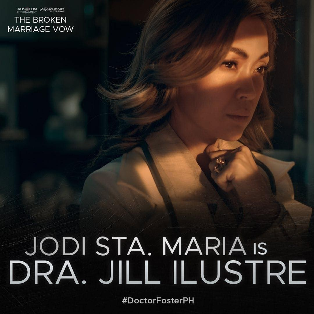 Jodi is the Pinay Doctor Foster in ABS CBN s The Broken Marriage Vow  1