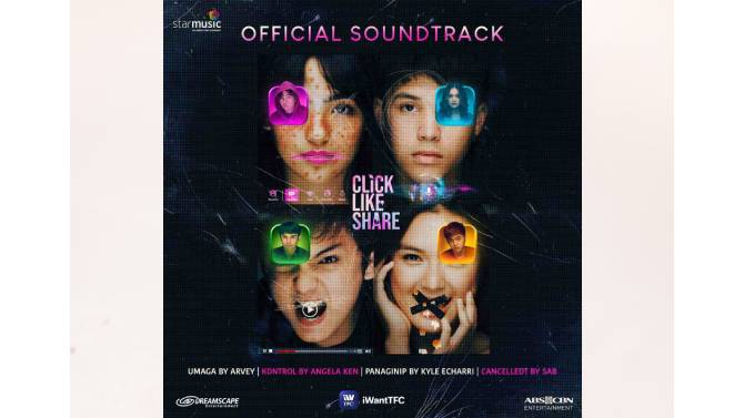 Click Like Share soundtrack to feature music from Kyle Saab Arvey and Angela 5