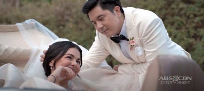 Janine Gutierrez first look for her Kapamilya teleserye Marry Me Marry You