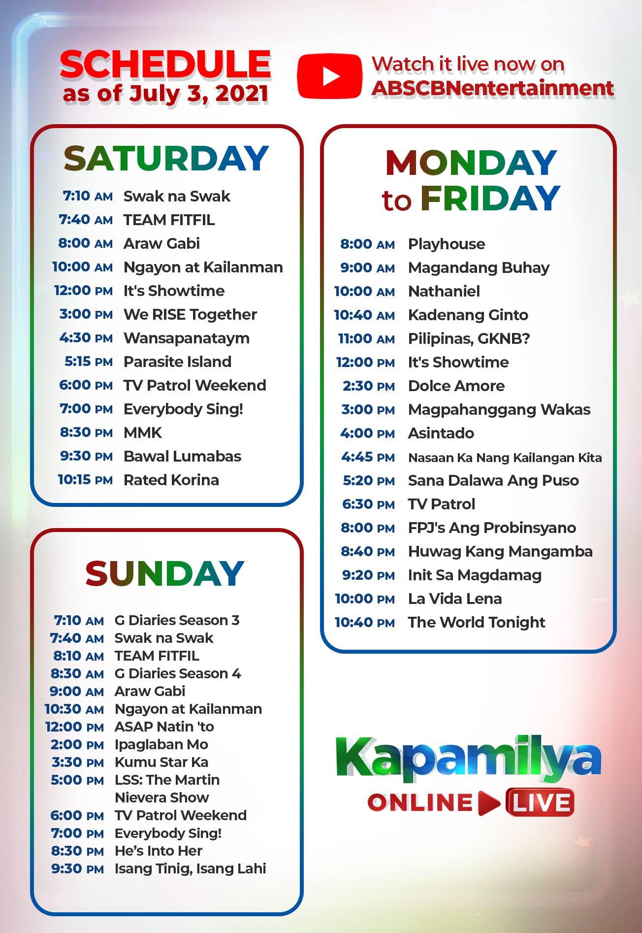Kapamilya Online Live 1