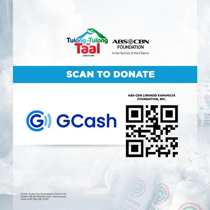 ABS-CBN Foundation Tulong-tulong sa Taal G Cash