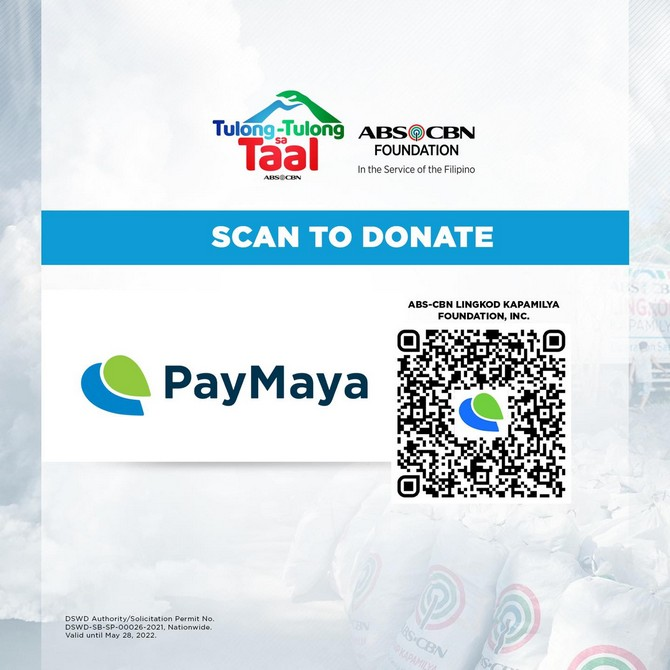 ABS-CBN Foundation Tulong-tulong sa Taal PayMaya