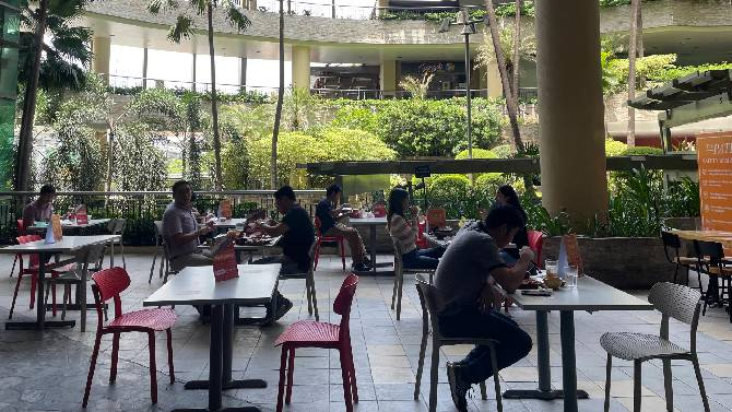 Sanctuary In The City Your New Dining Destination Is Actually A Garden 1