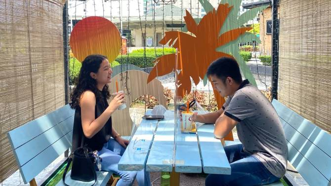 Sanctuary In The City Your New Dining Destination Is Actually A Garden 3