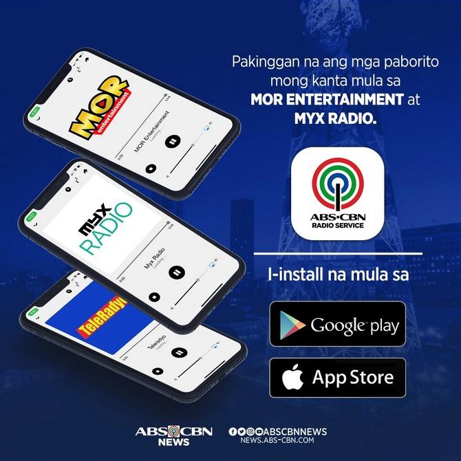 ABS-CBN Radio Service App