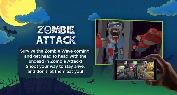 SKY Fiber Freemium Zombie Attack