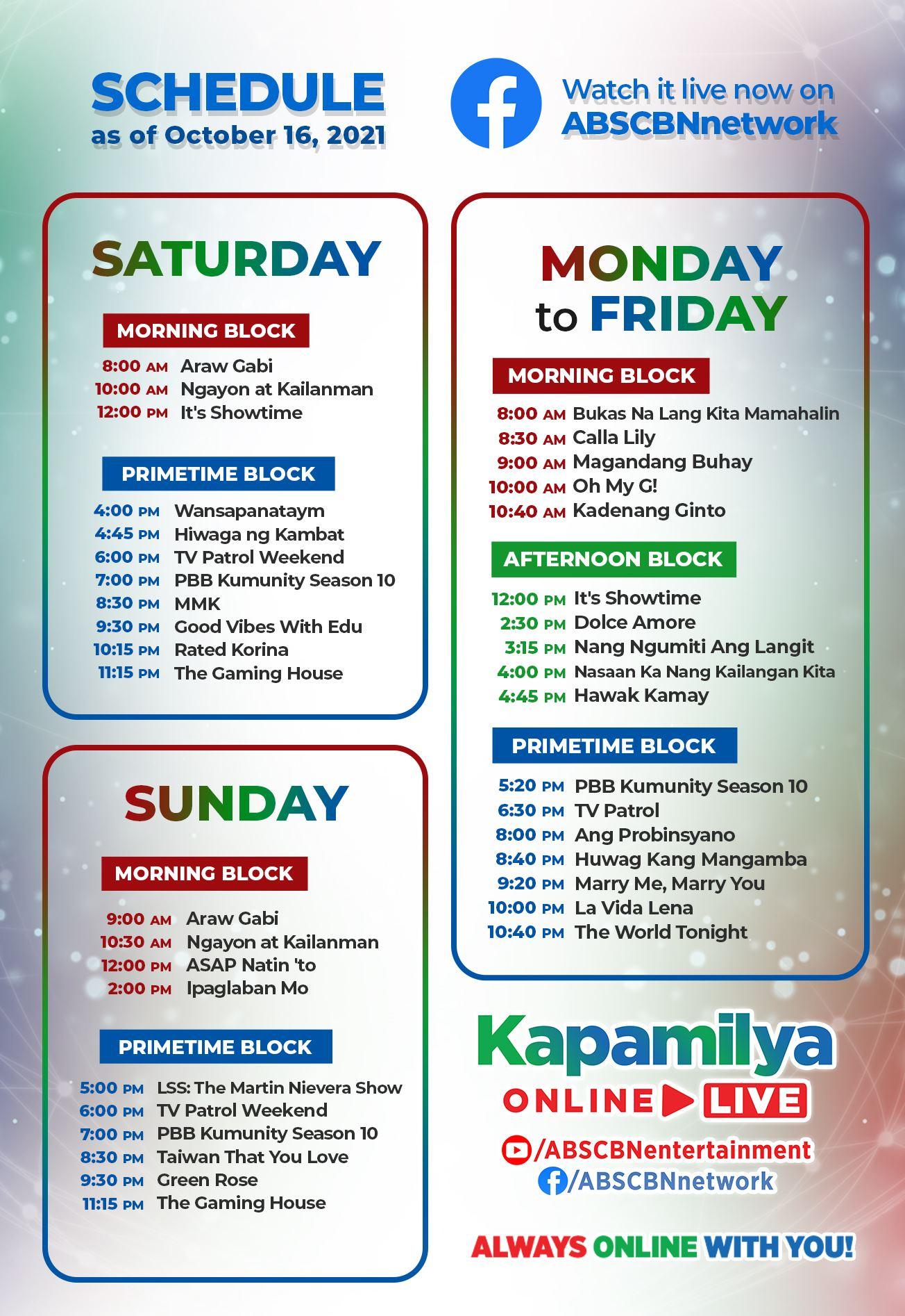 Kapamilya Online Live 2