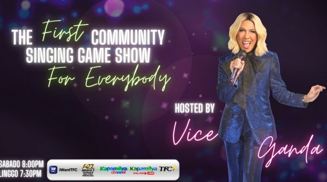 Vice Ganda leads bayanihan and community singing in Everybody Sing starting this weekend  1