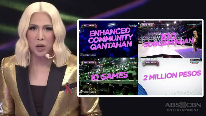 Everybody Sing to air pre pandemic episodes featuring 100 players P2 million jackpot 1