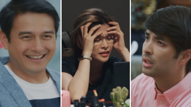 Dominic and Joross fight for Roxanne s heart in Hoy Love You on Kapamilya Channel 1