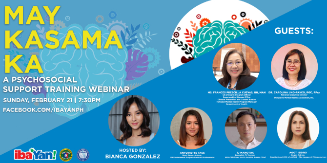 Iba Yan hold webinar for people suffering from depression 1