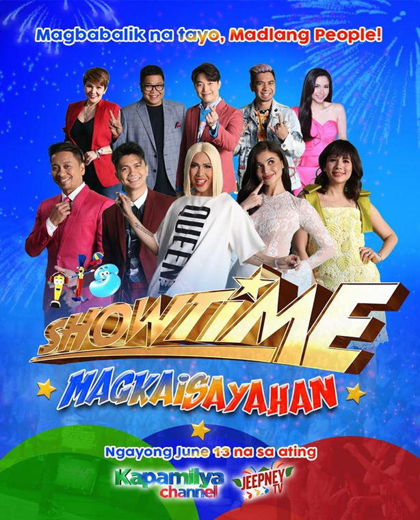 It s Showtime returns to provide entertainment relief and livelihood opportunities to Filipinos 1
