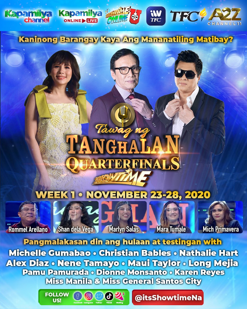 Rey Valera returns to It s Showtime for Tawag ng Tanghalan s first quarter finals this year 2
