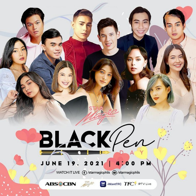 Over 40 artists to sign with ABS CBN in Star Magic Black Pen Day on June 19 3
