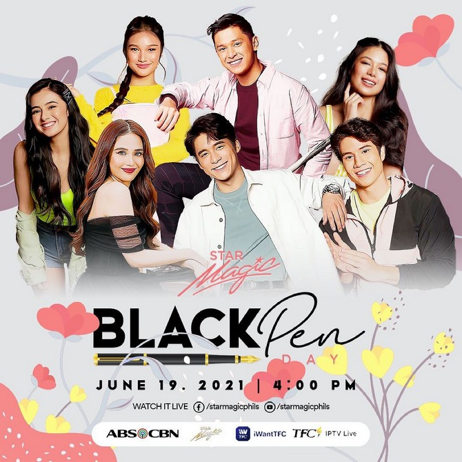 Over 40 artists to sign with ABS CBN in Star Magic Black Pen Day on June 19 4