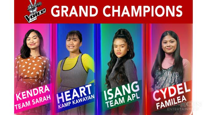 The Voice Teens names 4 grand champions in history making finale 1