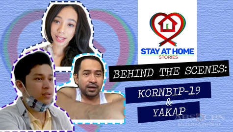 Kornbip-19 and Yakap Behind the Scenes | Stay at Home Stories Thumbnail