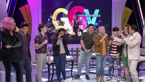 GGV: Vice, sinubukan kung gaano kagaling kumilatis ng singers ang Singvestigators ng I Can See Your Voice  Image Thumbnail
