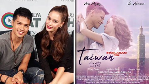 """Vin and Arci's most unforgettable experiences while shooting Ipaglaban Mo """"Taiwan"""" Image Thumbnail"""