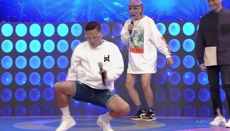 Jhong, sumakit ang tuhod sa pinagawang sayaw ni Vice Ganda | It's Showtime Image Thumbnail