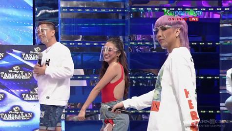Vice Ganda, sinayaw ang 'Magandang Dilag' kasama sina Kim at Jhong | It's Showtime  Image Thumbnail