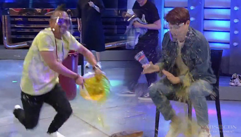 It's Showtime: Ryan Bang, nabuhusan ng juice sa punishment ng Team Vhong! Image Thumbnail