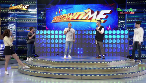 WATCH: Showtime family, pinuri ang performance ni Jhong sa Your Face Sounds Familiar  Image Thumbnail