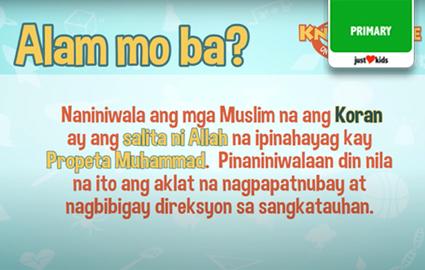 Knowledge On The Go | Islam | Araling Panlipunan Image Thumbnail