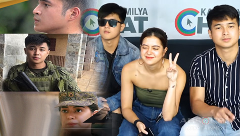 Kapamilya Chat with Jerome Ponce, Yves Flores, and Sue Ramirez for A Soldier's Heart