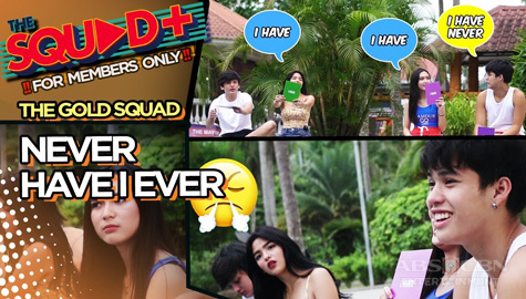 WATCH: Never Have I Ever Challenge with The Gold Squad | The Squad+