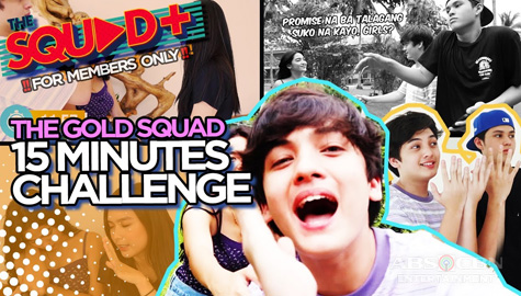 WATCH: 15 Minutes Challenge with The Gold Squad | The Squad+