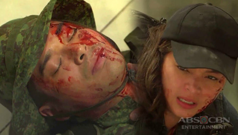 The General's Daughter: Ethan at Rhian, napuruhan sa pagsabog ng bomba Image Thumbnail