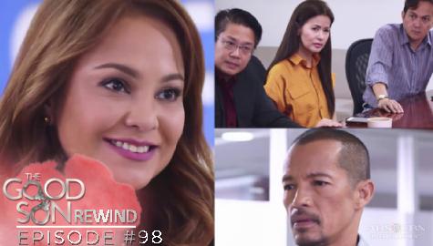 The Good Son: Olivia, ginulat ang lahat sa kanyang pagbabalik sa kompanya   Episode 98 Image Thumbnail