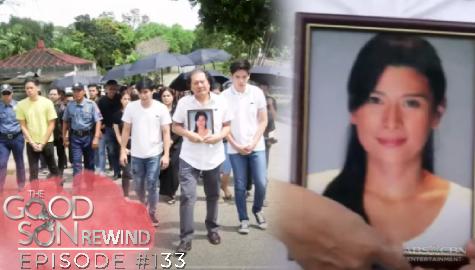 The Good Son: Racquel, inihatid na sa kaniyang huling hantungan   Episode 133 Image Thumbnail