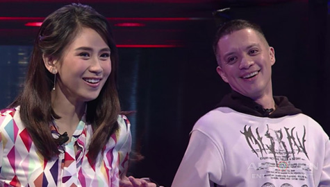 WATCH: Coach Sarah blocks Coach Bamboo for Isang | The Voice Teens 2020